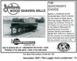The Governor's Choice Shaving Mill ad 11-1997