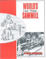 World's Most Portable Sawmill p1